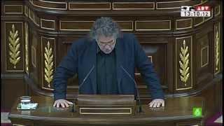Expulsados tres parlamentarios por hablar en catalán en el congreso de los diputados