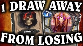 1 Draw Away from Losing! | Miracle Priest | THE WITCHWOOD | HEARTHSTONE | DISGUISED TOAST