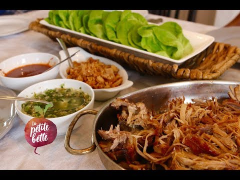 🥢-bo-ssÄm-miam-miam-😋---rouleaux-de-laitue-coréens-au-porc-effiloché-🥗-tuto-recette