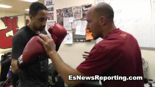 how to fight a southpaw - EsNews Boxing
