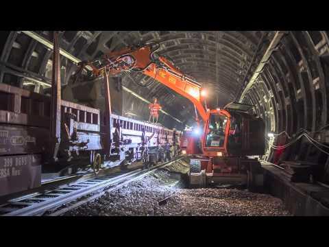 Les travaux du RER A en images
