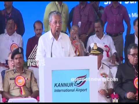 Kannur International Airport inauguration ; Chief Minister Pinarayi Vijayan Speech FULL VIDEO Mp3