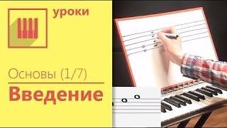 Урок фортепиано для начинающих