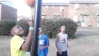 Taquan vs justin in ball