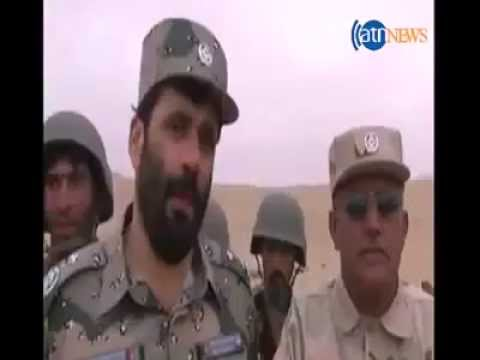 General Aminullah Amarkhail warned government opponents