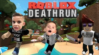 SOMEONES TRYING TO KILL US!!! | Roblox DEATHRUN