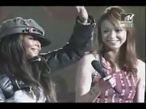 "Janet Jackson - ""All nite (Don't stop) MTV Music Awards Japan - 2004"