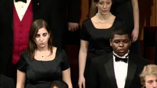 Concert Choir - Carol; arr. Luboff - A La Nanita Nana