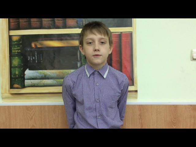 Изображение предпросмотра прочтения – ЕгорПашук читает произведение «Ворона и Лисица» И.А.Крылова