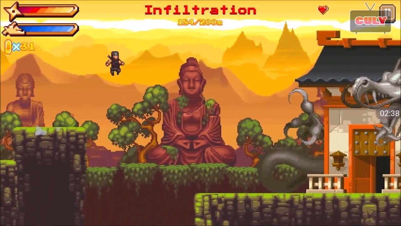 chơi Ninja phi tiêu đi cảnh đánh quái cu lỳ chơi game lồng tiếng vui nhộn funny gameplay