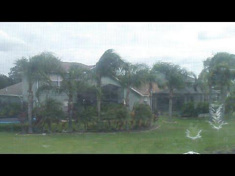 What Hurricane Irma Looks Like From Tampa LIVE