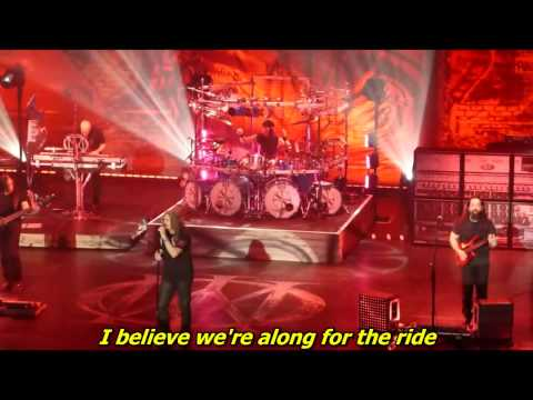 Dream Theater - Along for the ride ( Live ) - with lyrics