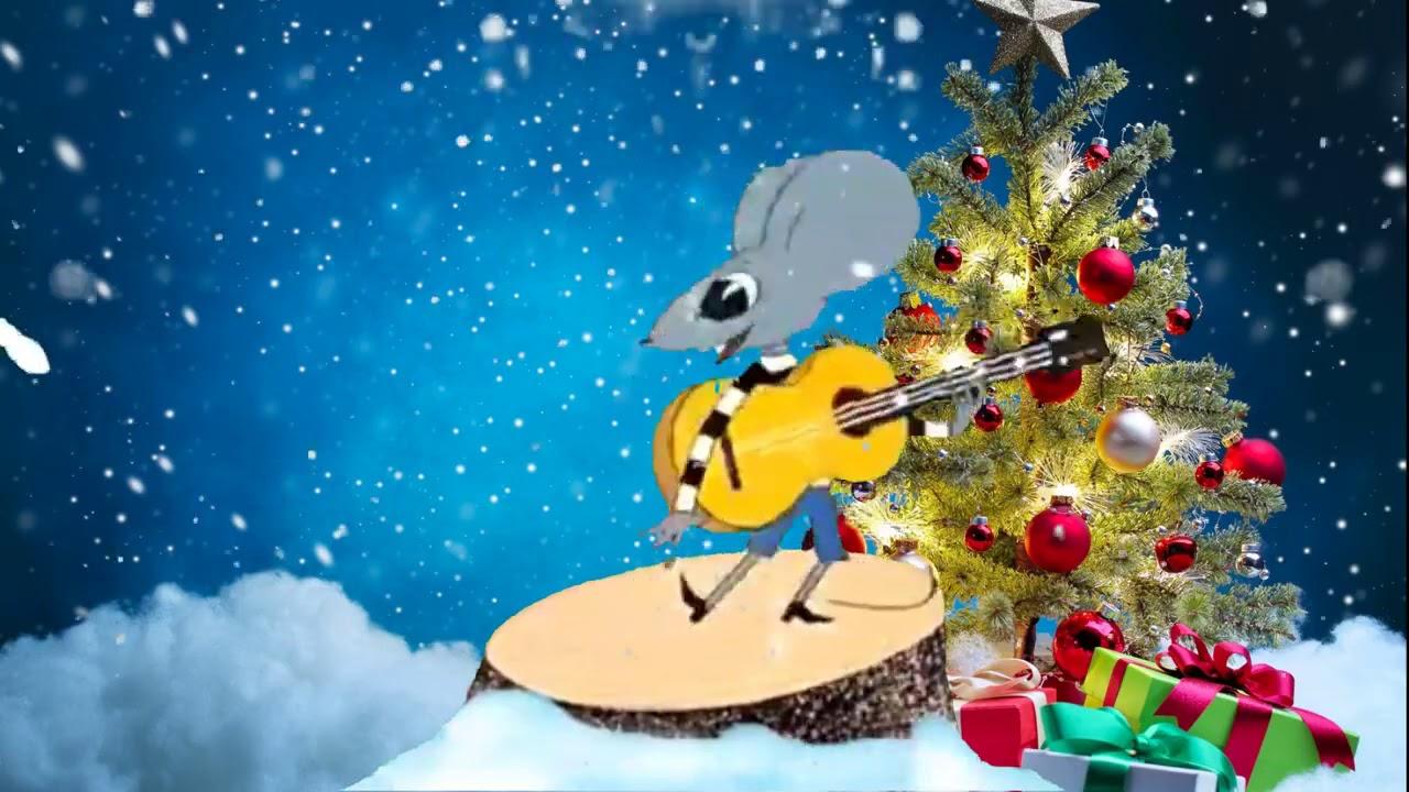 Музыкальные веселые открытки с новым годом