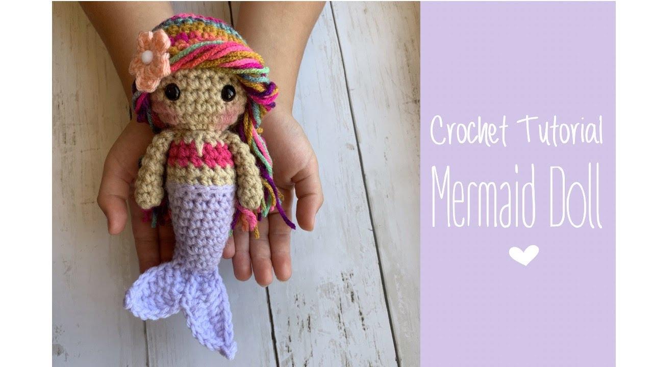Amigurumi crochet doll pattern: crochet mermaid pattern   720x1280