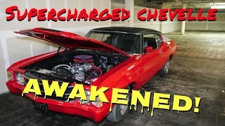 Supercharged Chevelle First Start In 2 Years - Vice Grip Garage EP32