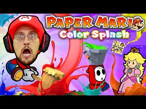 PAPER MARIO COLOR SPLASH SMASH (Should We Play Again or NO W