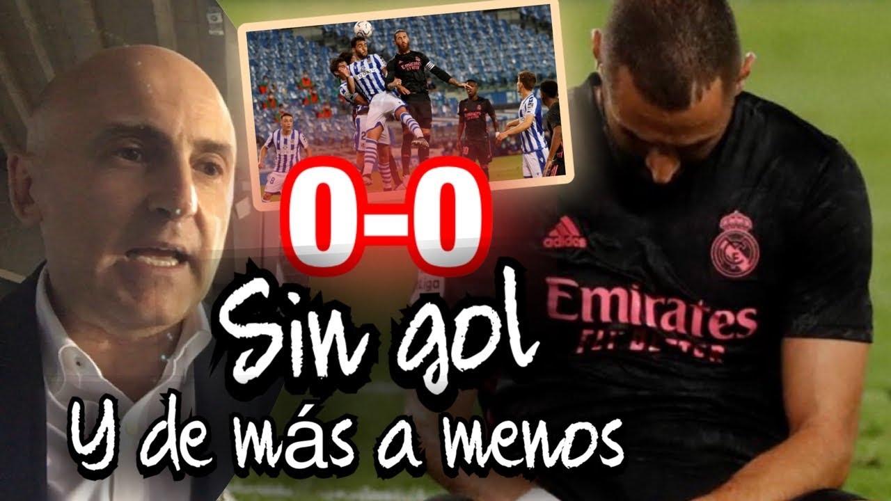 REAL SOCIEDAD VS REAL MADRID. SIN GOL Y DE MÁS A MENOS, EL ANÁLISIS DESDE DONOSTI #MundoMaldini