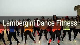 Lambergini song || Dance Fitness|| fitness with urvi || vadodara