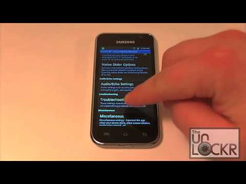 How To Make VoIP Calls with the Samsung Galaxy Player