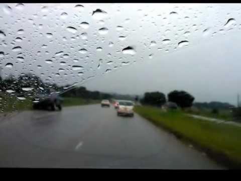 Driving around Harare january 2013