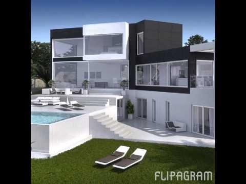 luxus villen youtube. Black Bedroom Furniture Sets. Home Design Ideas