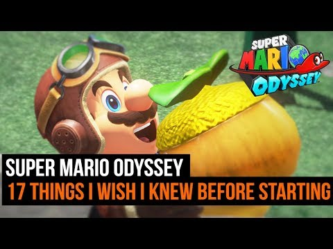 17 Things I Wish I Knew Before Starting Super Mario Odyssey