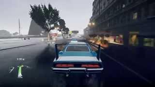 ForzaHorizon2 ダッジ  チャージャーデイトナでドライブ