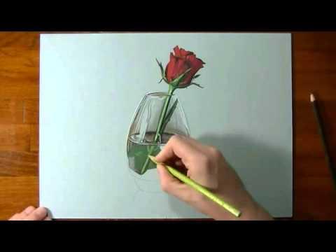 Gambar Kreatif Bunga 3 Dimensi Youtube