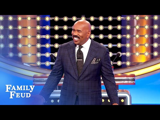 Babe, why don't you have a BLANK like Steve Harvey? | Family Feud