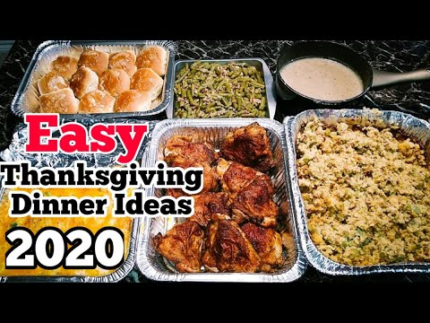 easy-thanksgiving-dinner-ideas- -holiday-meals- -holiday-food