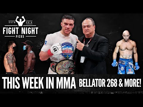 This Week in MMA - Bellator 268 Previews, Predictions & More!