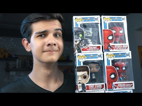 Человек-Паук: Возвращение Домой от Funko POP!