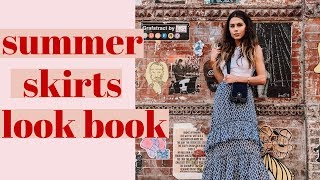 How to Style Skirts | 2018 Look Book