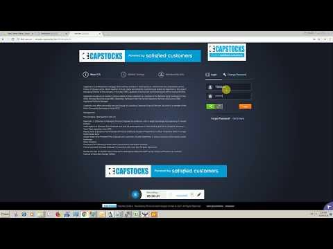 Capstocks: Online Trading Demo