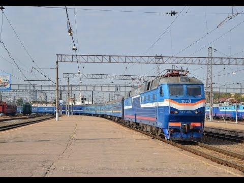 Пассажирский поезд №580 по участку Адлер - Белореченская ч.2