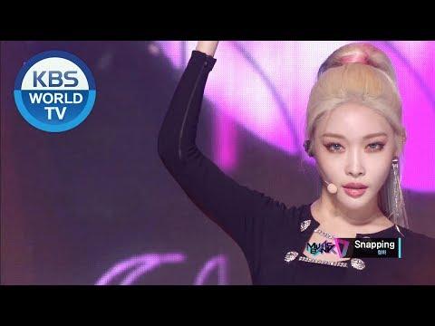 청하 (CHUNG HA) - Snapping [Music Bank / 2019.06.28]
