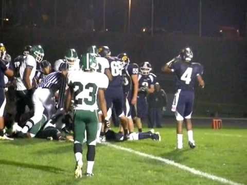 Football: Atholton goal line stand
