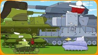 ЖЁСТКАЯ БИТВА Мультики про танки