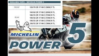 Michelin Power 5   New Sports Tyre For 2020