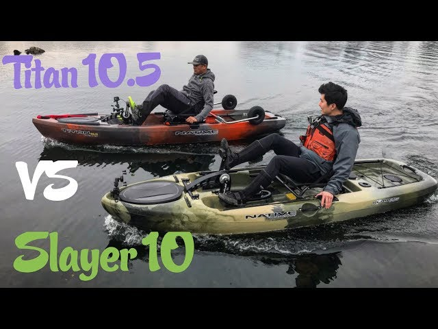 Native Titan 10.5 VS Slayer 10 Test: With Greg Blanchard