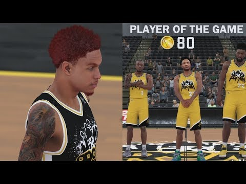 NBA 2K18 My Career Pro-Am - Funny Exits! Jumpers Fine! PS4 Pro 4K Gameplay