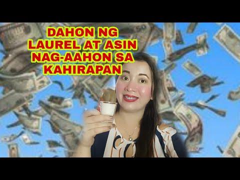 DAHON NG LAUREL AT ASIN NAG-AAHON SA KAHIRAPAN - Apple Paguio7