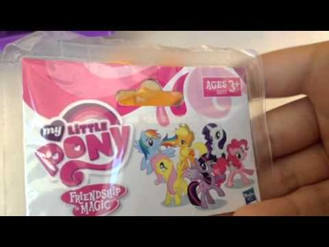 Mlp TY Plushies, Glitterwings Rainbow Dash, and Unknown Single Ponies Review!