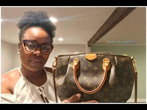 What's In My Louis Vuitton Turenne Bag*How I Clean It*A Sentimental LV Piece