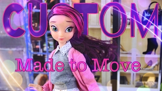 DIY - How to Make: Custom Made to Move Shopkins Shoppie PLUS Star Darlings Doll - 4K