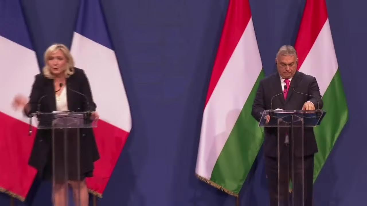 Download Conférence de presse de Marine Le Pen et Viktor Orban à Budapest