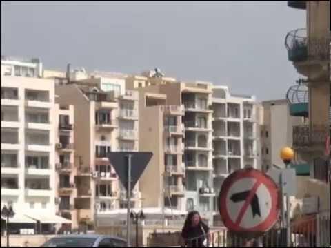 Vacances à Malte 2014, 1ère partie visite de St Julien