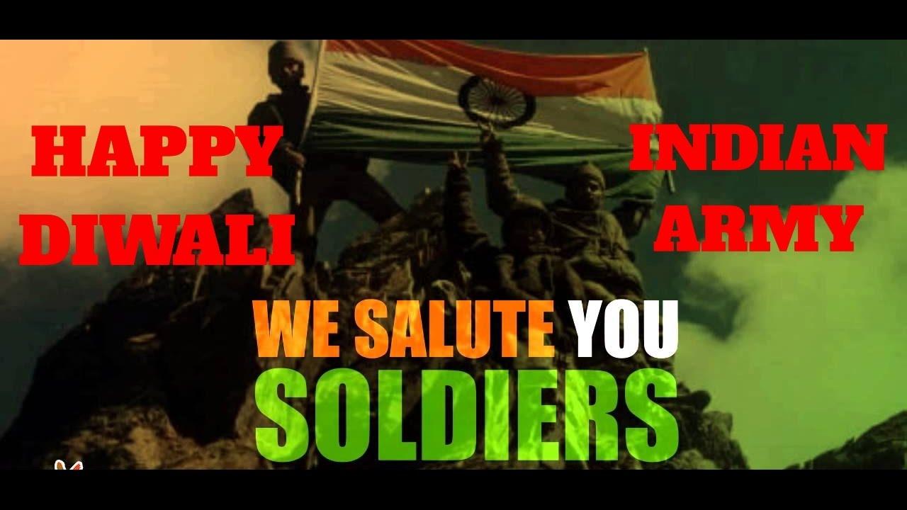 Sandesh2soldiers Tum Ho To Hum Hain Happy Diwali Indian Army Youtube