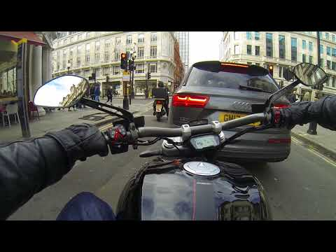 Ducati XDiavel - Soho to Mayfair