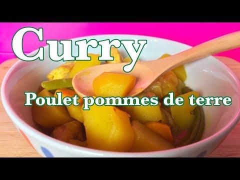 curry-poulet-pommes-de-terre-🥔